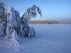 Decemberdag vid Puollemåivevägen